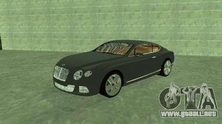 Bentley Continental GT 2010 V1.0 para GTA San Andreas
