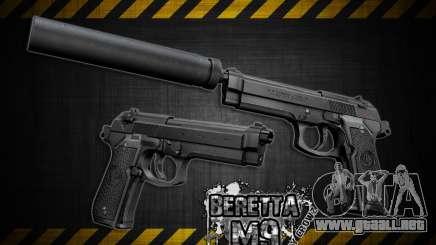 Barreta M9 and Barreta M9 Silenced para GTA San Andreas