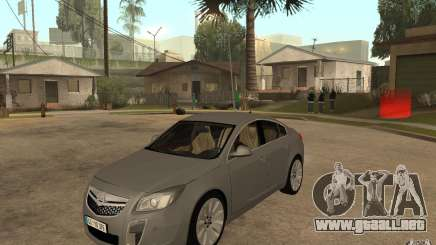 Opel Insignia 2010 para GTA San Andreas