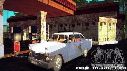 Policía de gas 13 Cuba para GTA San Andreas