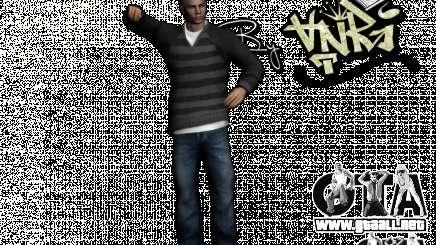PED en jeans y chaqueta para GTA San Andreas