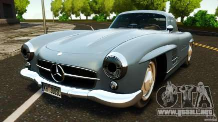 Mercedes-Benz 300 SL GullWing 1954 v2.0 para GTA 4