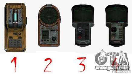 Detector de l. a. t. s. k. e. R # 1 para GTA San Andreas