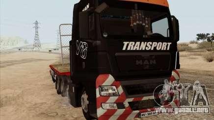 MAN TGX 8x4 para GTA San Andreas