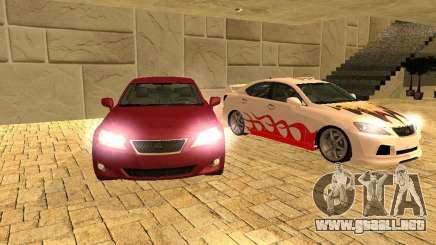 Lexus IS 350 para GTA San Andreas