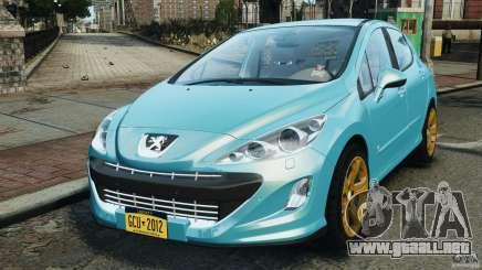 Peugeot 308 GTi 2011 v1.1 para GTA 4