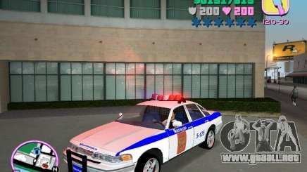 Ford Police para GTA Vice City