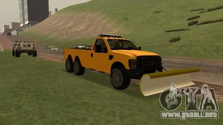Ford Super Duty F-series para GTA San Andreas