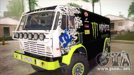 KAMAZ maestro 4911 Monster Energy para GTA San Andreas