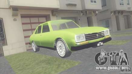 Peugeot 504 para GTA San Andreas