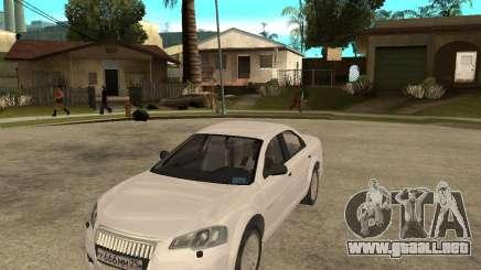 Siber Volga GAZ en 2,5 para GTA San Andreas