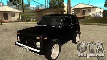 VAZ 21213 NIVA teñido para GTA San Andreas