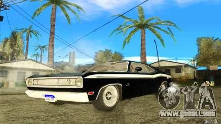 Plymouth Duster 340 1971 para GTA San Andreas