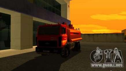 Camión MAZ para GTA San Andreas