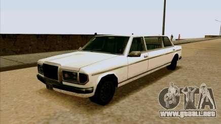 Admiral Limo para GTA San Andreas