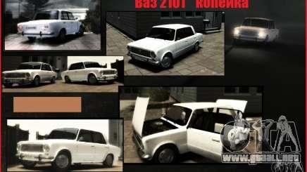 VAZ 2101 KOPEK para GTA 4