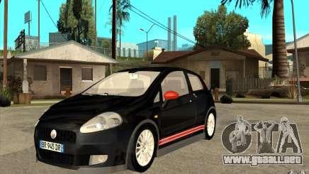 Fiat Grande Punto 3.0 Abarth para GTA San Andreas