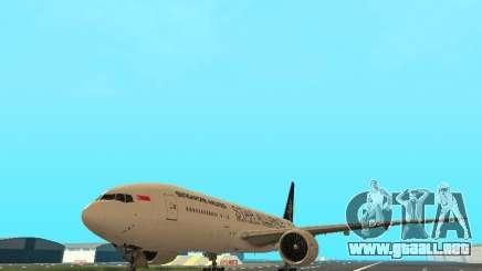 Boeing 777-200 Singapore Airlines para GTA San Andreas