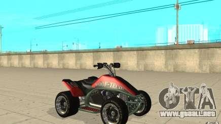Powerquad_by-piel 2-MF Woofi para GTA San Andreas