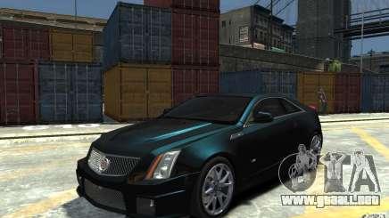 Cadillac CTS-V Coupe 2011 v.2.0 para GTA 4