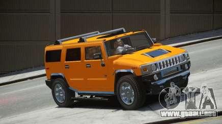 Hummer H2 2010 Limited Edition para GTA 4