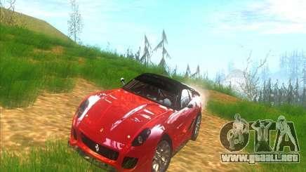 Ferrari 599XX para GTA San Andreas