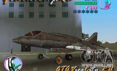 Harrier para GTA Vice City