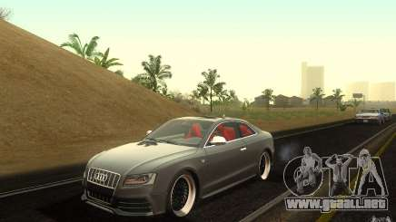 Audi S5 Black Edition para GTA San Andreas