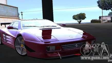 Ferrari 512 TR para GTA San Andreas