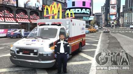 GMC C4500 Ambulance [ELS] para GTA 4