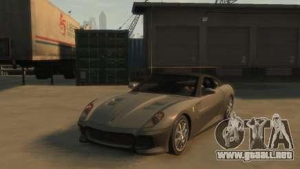 Ferrari 599 GTO para GTA 4