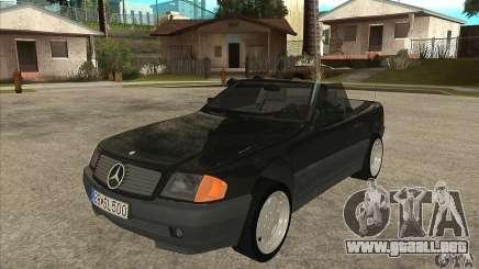 Mercedes SL-class 1995 para GTA San Andreas