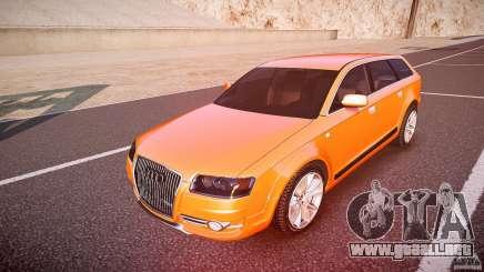 Audi A6 Allroad Quattro 2007 wheel 2 para GTA 4