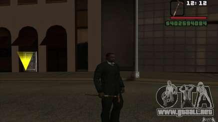 Nuevo bastón para GTA San Andreas