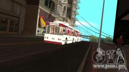 ZiU 682G para GTA San Andreas