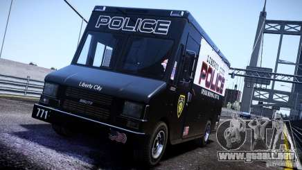 Boxville Police para GTA 4