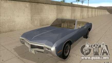 Buick Riviera GS 1969 para GTA San Andreas