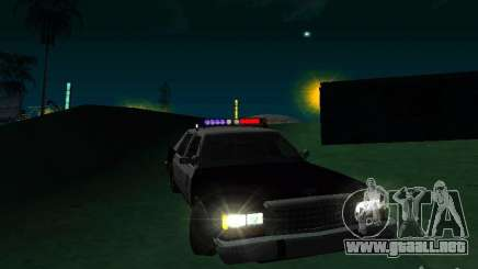 Ford Crown Victoria LTD 1992 SFPD para GTA San Andreas