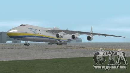 El an-225 Mriya para GTA San Andreas