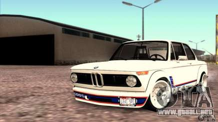 BMW 2002 Turbo para GTA San Andreas