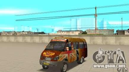Gacela kulnev obezbašennaâ para GTA San Andreas