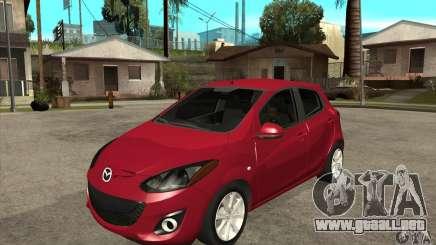 Mazda 2 2011 para GTA San Andreas