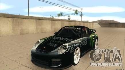 Porsche 997 Rally Edition para GTA San Andreas
