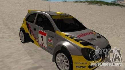 Opel Rally Car para GTA San Andreas