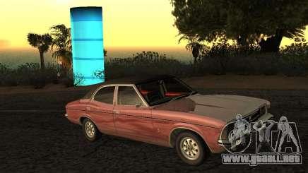 Ford Cortina MK 3 2000E para GTA San Andreas