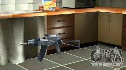 Pak versión doméstica armas 3 para GTA San Andreas