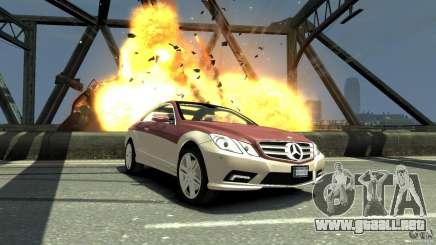 Mercedes-Benz E 500 Coupe V2 para GTA 4