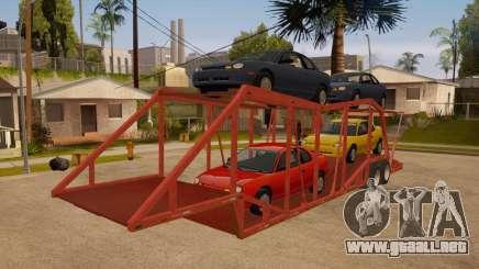 Carro del semi-remolque para GTA San Andreas