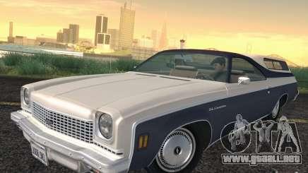 Chevrolet El Camino 1973 para GTA San Andreas