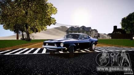Ford Shelby GT500 KR 1968 para GTA 4